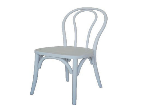 BENTWOOD (VCH-075) DINING CHAIR WITH TIMBER SEAT - WHITE, BLACK, RED OR WALNUT