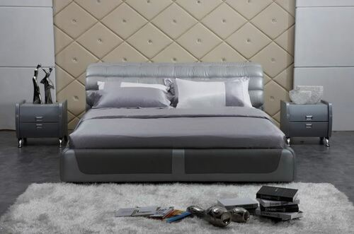 CEASAR KING 3 PIECE  LEATHERETTE BEDSIDE (#24) BEDROOM SUITE  (A9032) - ASSORTED COLOURS