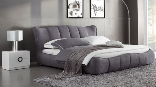 QUEEN EMERON FABRIC BED (MODEL:B6160) - ASSORTED COLOURS
