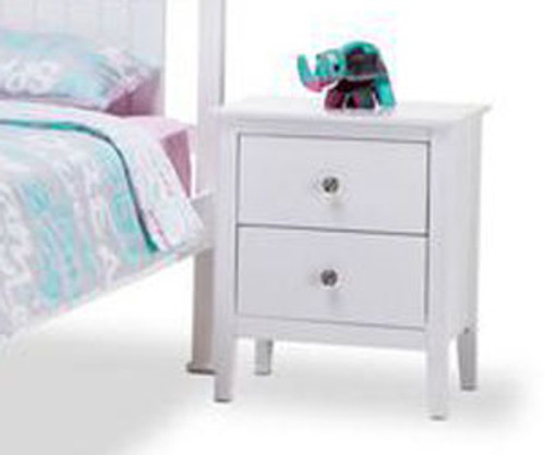 GIBRALTAR BEDSIDE (MODEL 2-1-20-14-1) - WHITE