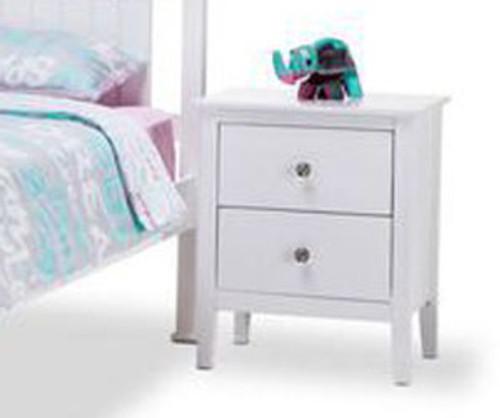 GIBRALTAR BEDSIDE (MODEL 2-1-20-14-1) - WHITE