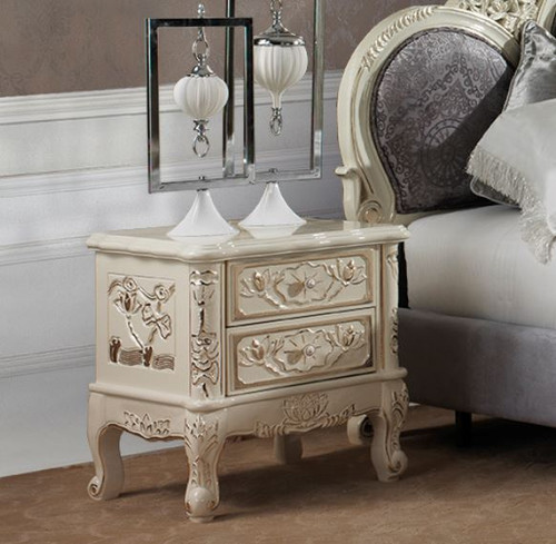 HARPER  2 DRAWER BEDSIDE TABLE (#171)