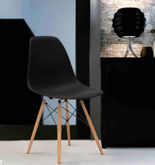 PARIS DINING CHAIR - BLACK OR WHITE