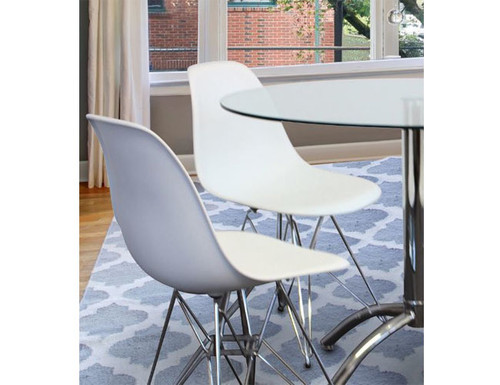 EIFFEL  DINING CHAIR - BLACK OR WHITE