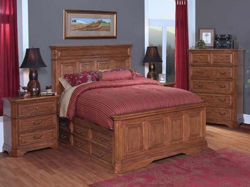 FELTON QUEEN  3 PIECE BEDSIDE BEDROOM SUITE (11-9-14-7-19-15-14)