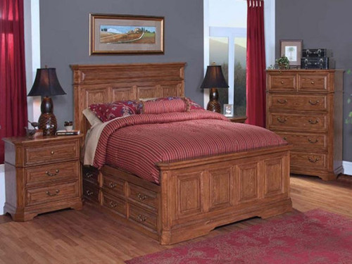 FELTON QUEEN  3 PIECE BEDSIDE BEDROOM SUITE (11-9-14-7-19-15-14)