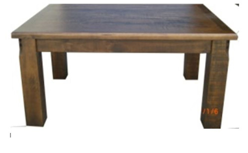 CALISTA (COB2.1T) DINING TABLE 2100(L) X 1050(W) - ROUGH SAWED