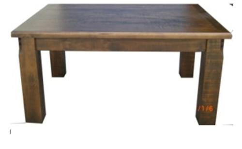 COBAR (COB2.1T) DINING TABLE 2100(L) X 1050(W) - ROUGH SAWED
