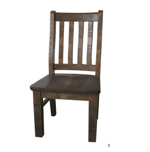 CALISTA (COBDC) DINING CHAIR - ROUGH SAWED