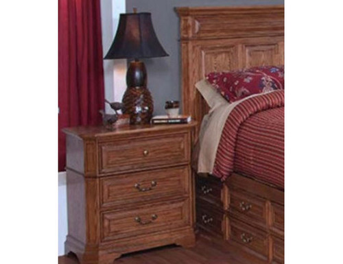 FELTON 3 DRAWER BEDSIDE TABLE (11-9-14-7-19-15-14)
