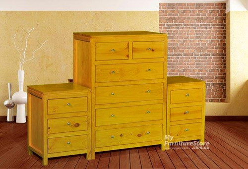 FEDERATION (AUSSIE MADE) 3 PIECE CHEST SET (6+3+3) - ASSORTED COLOURS