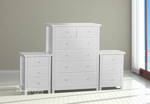 FEDERATION 3 PIECE CHEST SET (6+3+3) - ASSORTED PAINTED COLOURS