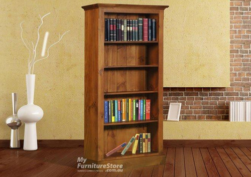 DRAGON / COLONIAL BOOKCASE (6 X 3) - 1800(H) X 900(W) - ASSORTED COLOURS