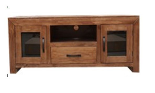 FRANK (UNIT 3) ENTERTAINMENT UNIT WITH 2 DOORS &  DRAWER  - 595(H) x 1420(W) -  BALTIC(#503) OR WALNUT (#400)