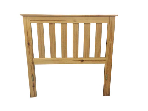 FEDERATION KING BEDHEAD - 1200(H) - ASSORTED TIMBER COLOUR STAINS