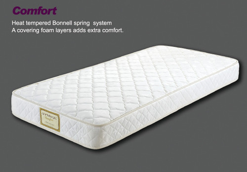 SINGLE COMFORT TWIN SIDED TIGHT TOP MATTRESS - ONLINE SPECIAL - MEDIUM FIRM