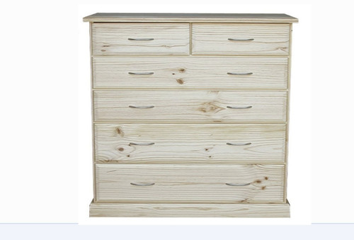 AVOCA CAV316 6 DRAWER TALLBOY - 1180(H) X 950(W) - ASSORTED COLOURS AVAILABLE
