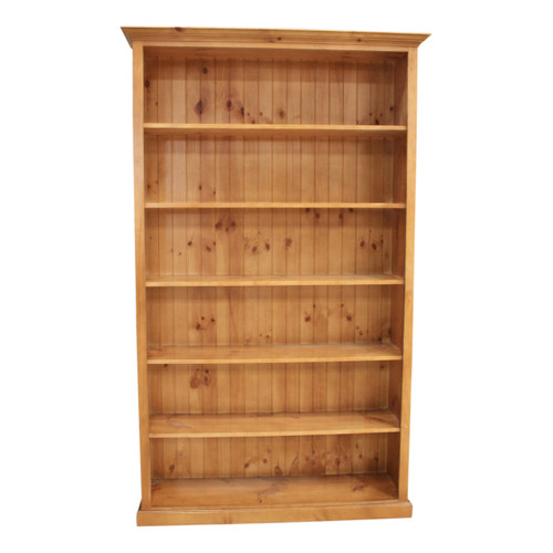 COLONIAL BOOKCASE - 1500(H) X 600(W) - ASSORTED COLOURS