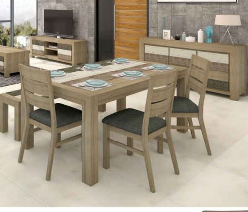 HIGHLAND 7 PIECE DINING SETTING  (3-8-1-20-5-1-21) 1800(L) X 1000(W) - MULTI COLOR