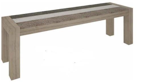 HIGHLAND  BENCH  (3-8-1-20-5-1-21) -450(H) 1500(W) - BRUSHED & MULTI COLOR
