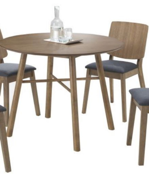 DENMARK  ROUND DINING TABLE ONLY  (VNA-001) 1000MM (DIA)  - OAK