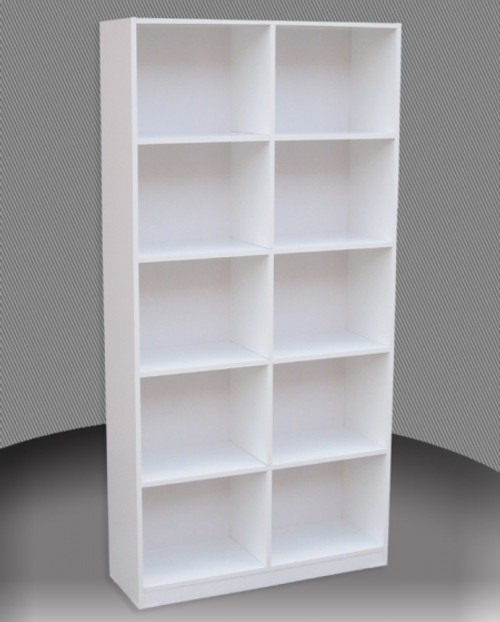 6FT BOX BOOKCASE (BOX6x4) - 1800(H) x 1200(W) - ASSORTED COLOURS