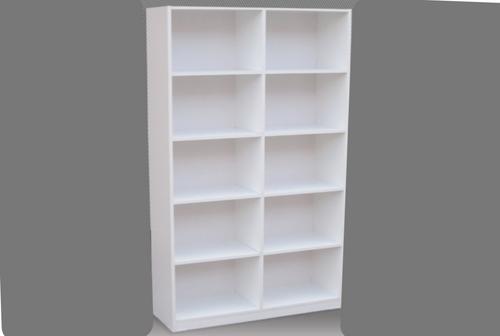 6FT BOX BOOKCASE (BOX6x2) - 1800(H) x 600(W) - ASSORTED COLOURS