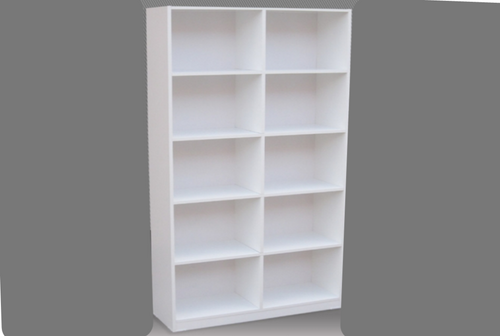 6FT BOX BOOKCASE (BOX6x2) - 1800(H) x 600(W) - ASSORTED COLOURS