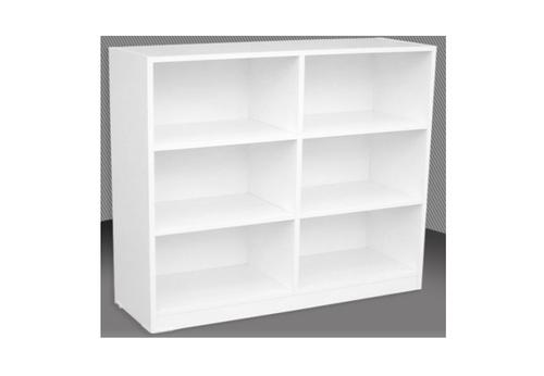 3FT BOX BOOKCASE (BOX3x3) - 860(H) x 900(W) - ASSORTED COLOURS