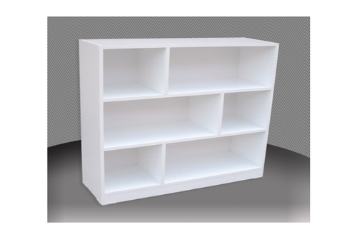 REXY 3FT STAGGERED BOOKCASE (ST3x3) - 860(H) x 900(W) - ASSORTED COLOURS