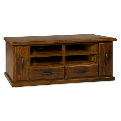 ALBURRY ENTERTAINMENT UNIT WITH 2 DOORS, 2 DRAWERS & 4 SHELVES  640(H) X 15840(W)- JAMAICA LA09