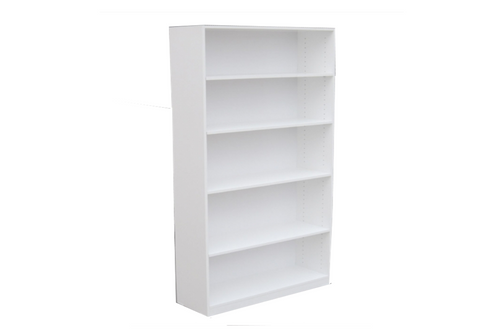 6FT HIGH BOOKCASE (6x18x18) - 1800(H) x 450(W) - ASSORTED COLOURS