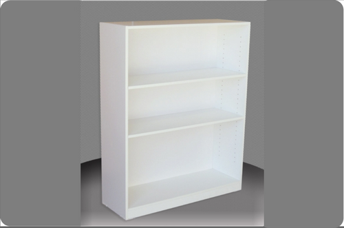 4FT HIGH BOOKCASE (4x4) - 1160(H) x 1200(W) - ASSORTED COLOURS