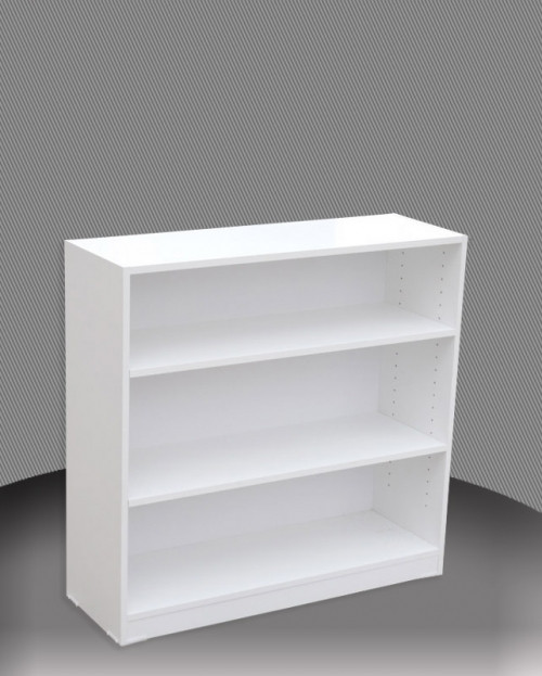 3FT HIGH BOOKCASE (3x3) - 860(H) x 900(W)  - ASSORTED COLOURS