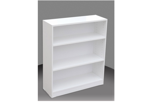 3FT HIGH BOOKCASE (3x2) - 860(H) x 600(W) - ASSORTED COLOURS