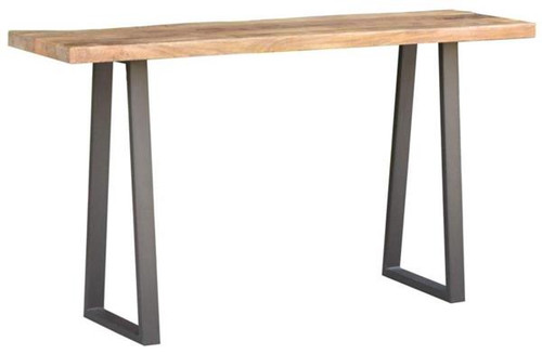 UNIQ ( UL-002) SOLID TIMBER/STEEL  1400(L) CONSOLE TABLE   - 775(H) X 1400(W) X 400(D) - NATURAL