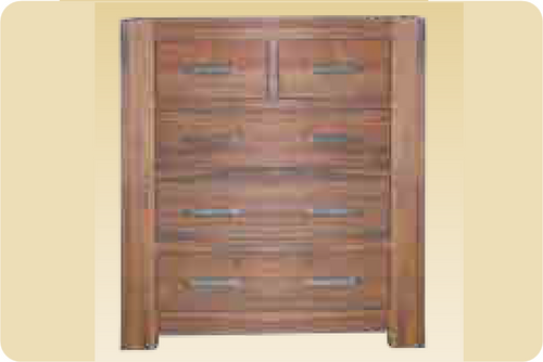 "EMILY 36""  (6) SIX  DRAWERS ACACIA TIMBER  TALLBOY CHEST  -1180(H) X 1050(W)- BLACKWOOD OR WALNUT"