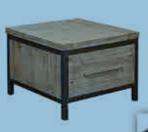 CEMBER  (1) ONE DRAWER  LAMP TABLE 600(W) - ( 16-15-18-20-12-1-14-4) - WALNUT