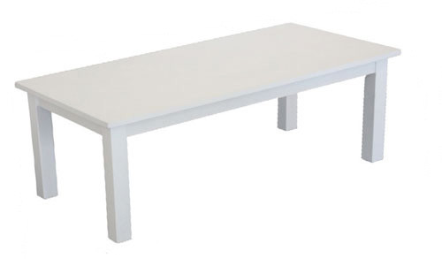 ADELINE COFFEE TABLE - 1100(W) x 550(D) - WHITE