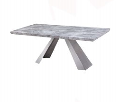 HONDI  DINING TABLE - 1800(L) X 1000(W) - (MODEL 3-1-19-1) - GREY