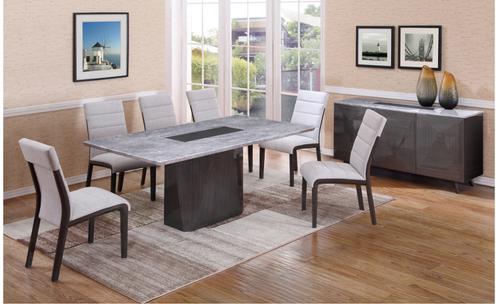 CAPE (9003) DINING TABLE 1800(L) X 900(W) - (MODEL-12-25-15-14) - GREY