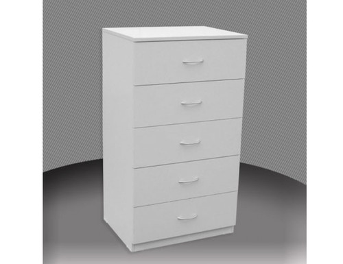 2FT 3 DRAWER HIGH CHEST (CD3) WITH METAL RUNNERS (NOT AS PICTURED) -  750(H)- ASSORTED COLOURS