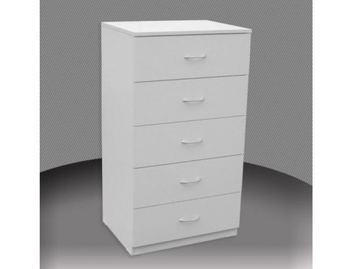 2FT 4 DRAWER HIGH CHEST (CD4) WITH METAL RUNNERS (NOT AS PICTURED) - 865(H) - ASSORTED COLOURS