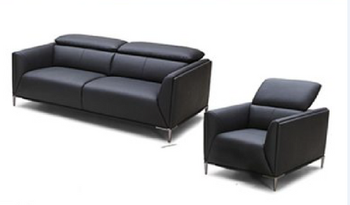 AMEN    3 +1+ 1 SEATER   FULL LEATHER  LOUNGE SUITE  - - (MODEL13-9-12-1-14) GREY