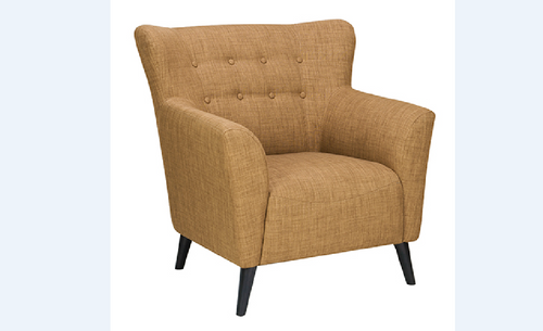 MANSON  FARBRIC ARMCHAIR  - (MODEL- 8-21-18-19-20-22-9-12-12-5) -  930(W) -  AS PICTURED