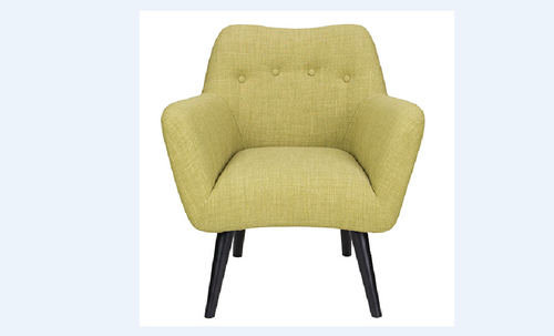 MANSON (8410)  FARBRIC ARMCHAIR  - AS PICTURED