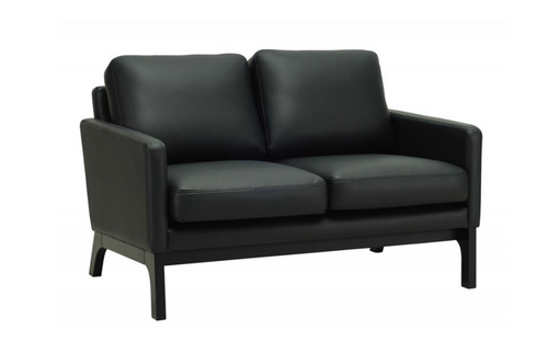 COVE TWIN (2) SEATER   LETHERETTE  SOFA CHAIR - MOCHA