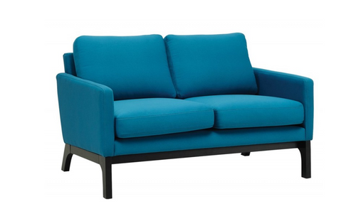 COVE TWIN (2) SEATER   FABRIC  SOFA CHAIR - TEAL