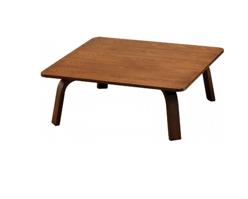 NES SQUARE  COFFEE TABLE-  900(W) X 900(D)- WALNUT