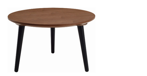 CARSYN ROUND COFFEE TABLE-    600(W) X 600(D)  - COCOA